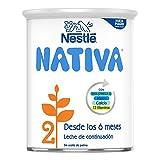 Nestlé Nativa 2 Fórmula para Bebés A Partir de Los 6 Meses, 800g