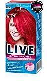 Schwarzkopf Live Ultra Brights Or Pastel Red Pilar Box Tinte semipermanente para el cabello