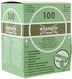 Wilkinson Sword Hospital - Caja Dispensadora de 100 Cuchillas de Afeitar Desechables, Apta para Uso Pre-Operatorio, Verde