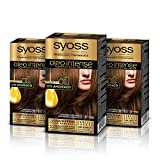 Syoss Oleo Intense Syoss Oleo Intense - Coloración Permanente Tono 5-86 Castaño Caramelo (Pack De 3) 3 Unidades 50 ml
