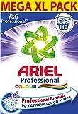 Ariel Polvo de lavado de color profesional 110 lavados